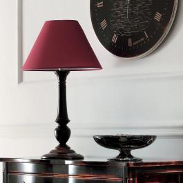 Lampada diametro 40 finitura moka francese