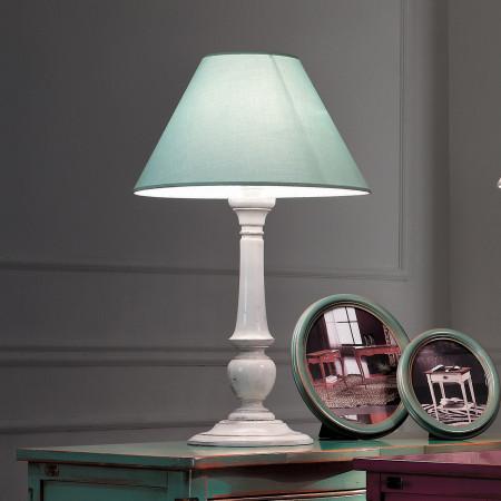 Lampada diametro 40 finitura verde francese