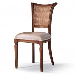 Sedia sofia paglia schienale e sedile