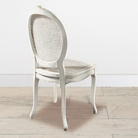 Sedia in paglia di vienna schienale e seduta
