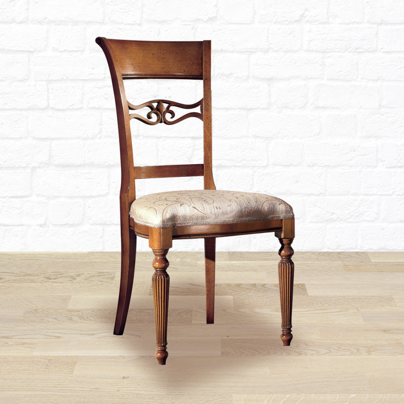 sala da pranzo classica 6 sedie legno