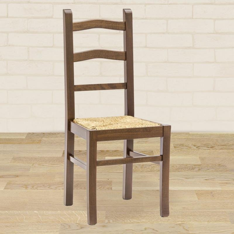 Fondino In Paglia Per Sedie.Sedia In Legno Con Fondino In Paglia
