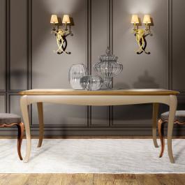 Tavolo con allunga cm 40 140/180 x 90