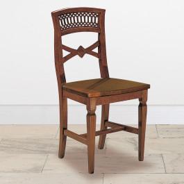 Sedia goletta con sedile legno