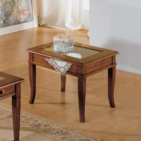Tavolino quadrato a ribalta 60x60