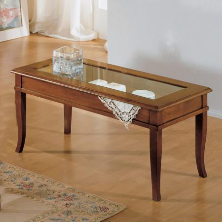 Tavolino rettangolare a ribalta 100 x 50