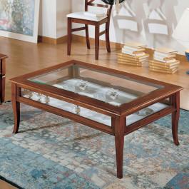 Tavolino rettangolare con ribalta 100 x 50