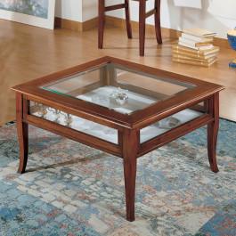 Tavolino quadrato con ribalta 60 x 60