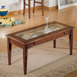 Tavolino rettangolare con cassetto 100 x 50