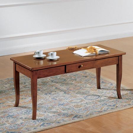 Tavolino rettangolare con cassetto 100x50