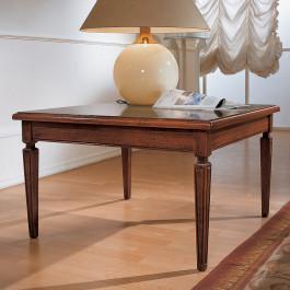 Tavolino 80x80 intarsio parquet
