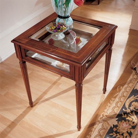 Tavolino a bacheca 60x60