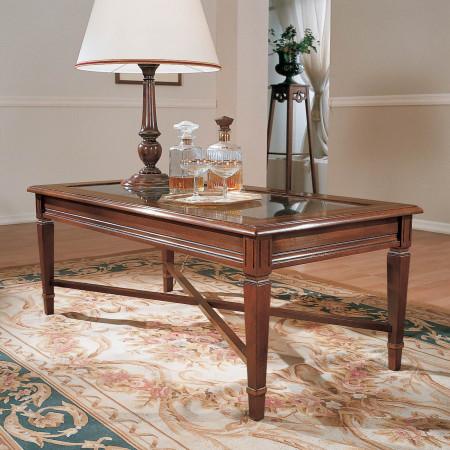 Tavolino con filetto 120x60