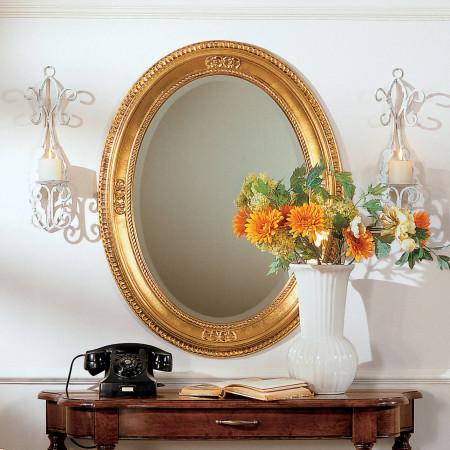 Specchiera ovale