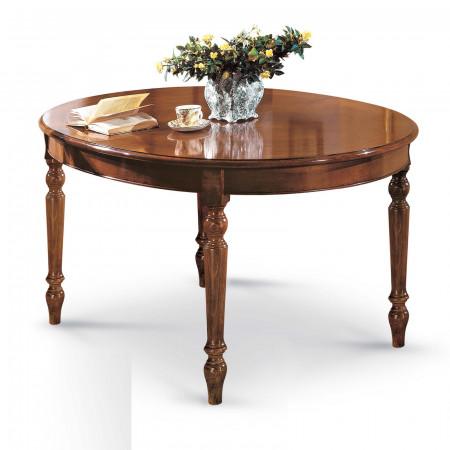 Tavolo ovale riquadrato 160/210x110
