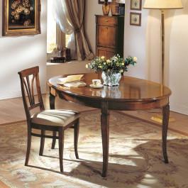 Tavolo ovale allungabile 160/210x110