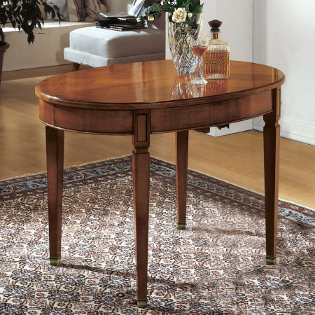 Tavolo ovalino 110/230x80 con puntali