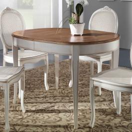 Tavolo ovalino 115/203x95 in legno