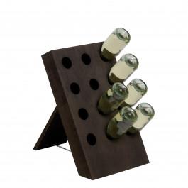 Cantinetta in legno per 12 bottiglie