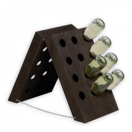 Cantinetta in legno per 24 bottiglie