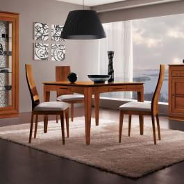 Tavolo legno allungabile 110/190x110