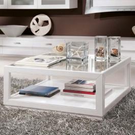 Tavolino quadrato laccato