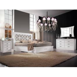 Camera da letto con armadio ante battenti