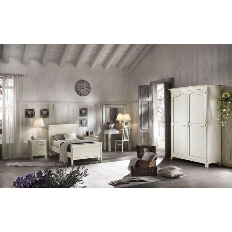 Camera classica completa di armadio - Letto tre piazze ...