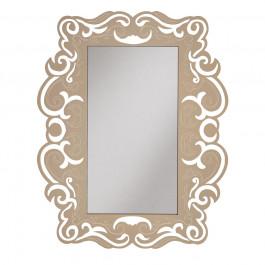Cornice con specchio rettangolare