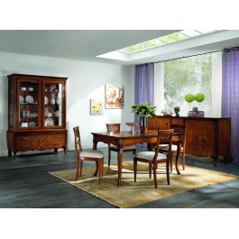 Sala da pranzo con rilievi angela