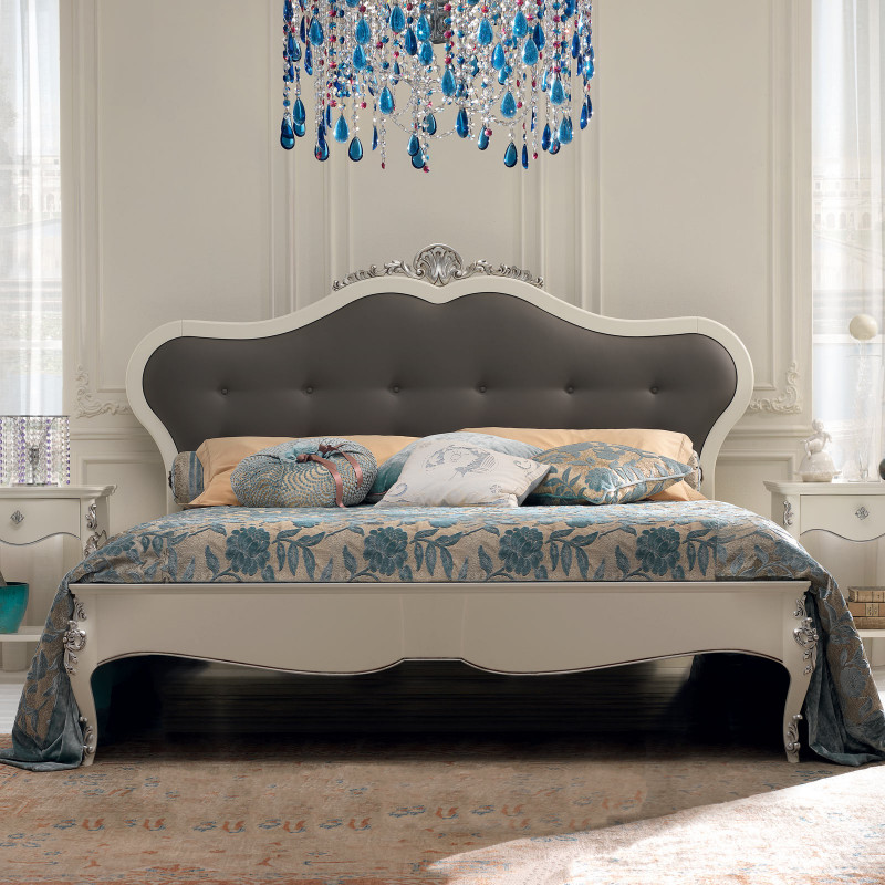 Letto A Due Piazze.Letto A Due Piazze Classico King Size