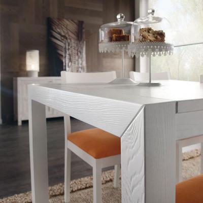 Bianco opaco su legno spazzolato +353,00€