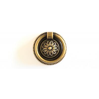 Maniglia anello oro antico +5,00€