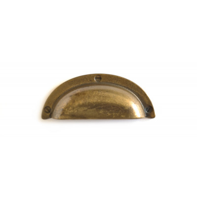 Maniglia conchiglia oro antico +5,00€