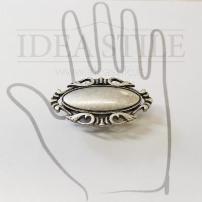 Maniglia decor argento antico +5,00€