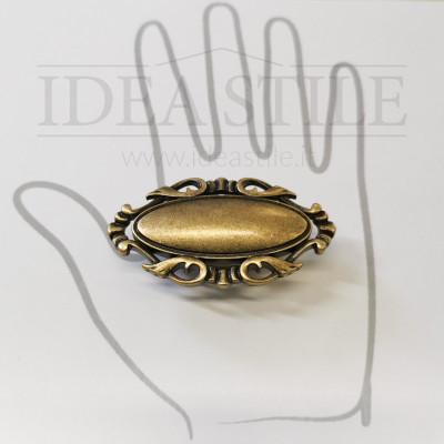 Maniglia decor oro antico +7,00€