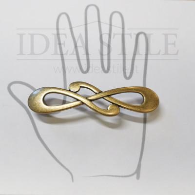 Maniglia nodo oro antico +7,00€