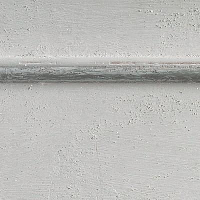 Pennellato bianco con bordino grigio