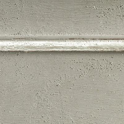 Pennellato grigio con bordino bianco