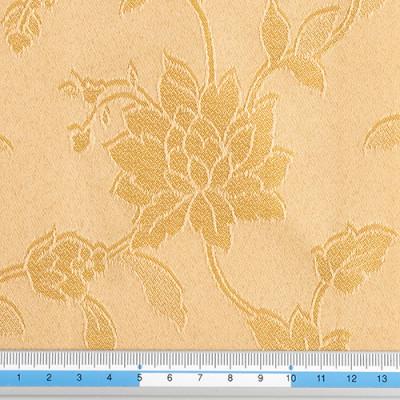 Tessuto Pisa 2 oro floreale
